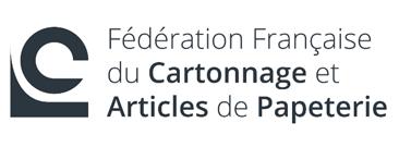 logo de la fédération française du cartonnage et articles de papeterie