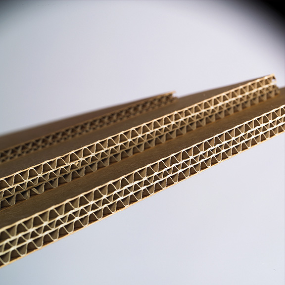 matériau carton ondulé